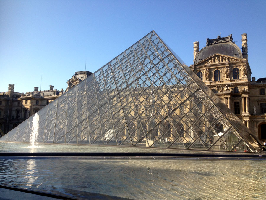 Architecture of the night anna 39 s blog - Construction of the louvre ...